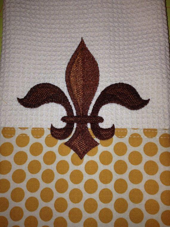 Napoleonic Fleur De Lis Cream Retro Geo Edging By Daniel1956 For