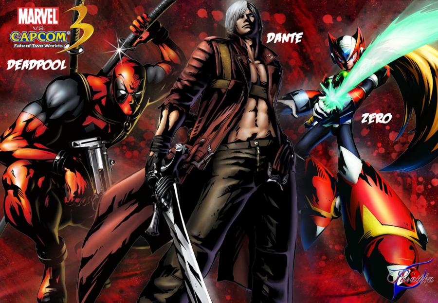 Marvel Vs Capcom 3 Wallpaper Marvel Vs Capcom Marvel Vs Capcom