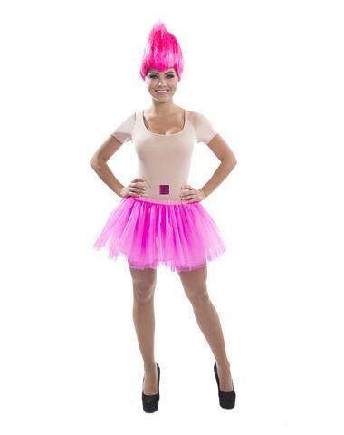Pink Troll Womens Adult Costume Halloween Diy Halloween