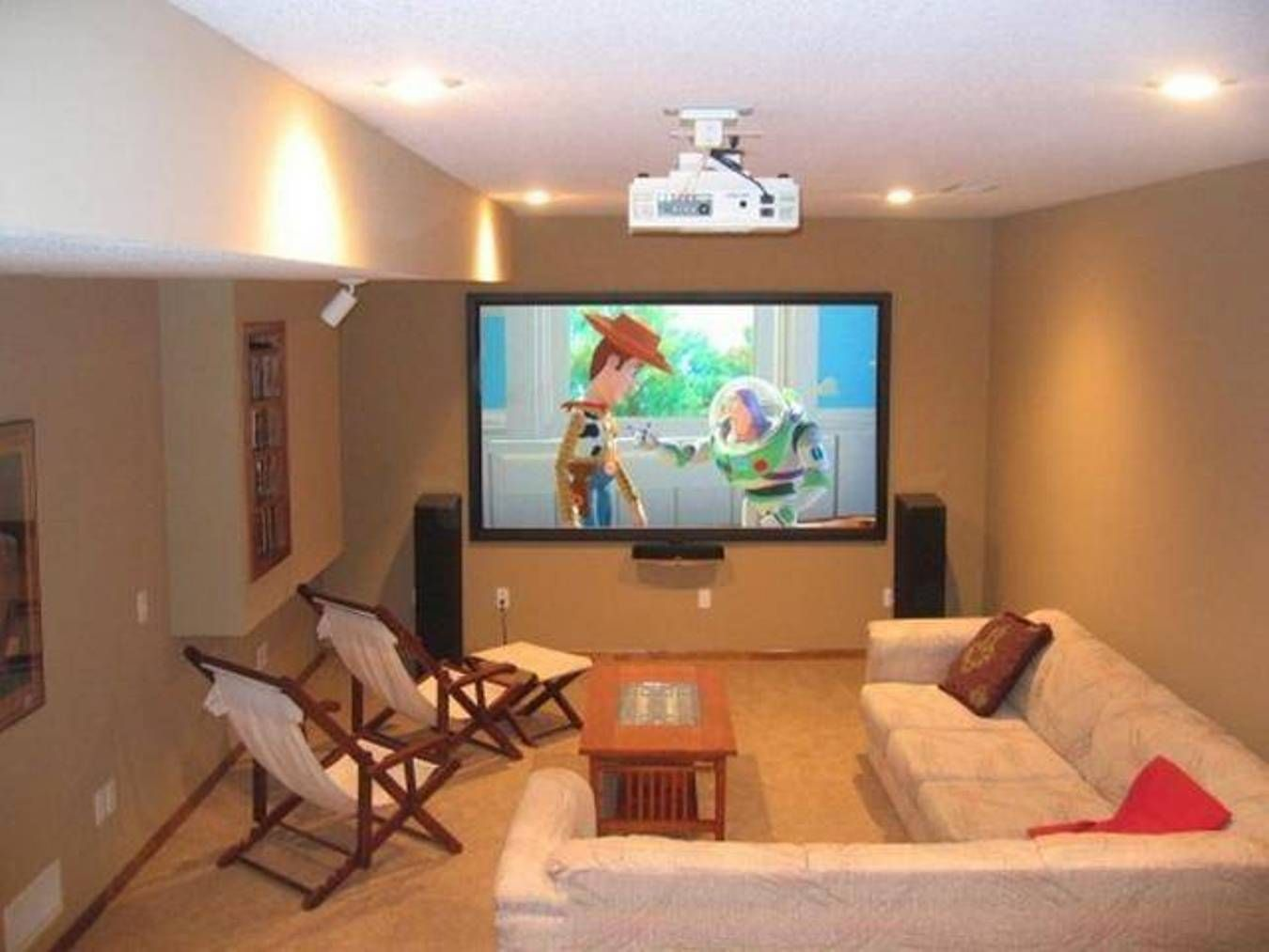 Small Home Theater Room Ideas  Home Design and Decor