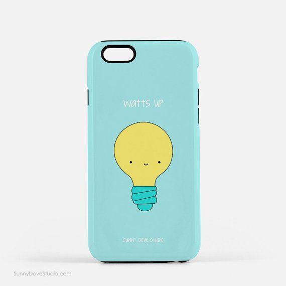 Funny Phone Case Cute iPhone Cases Gift For Friend Girlfriend Her Watts Up Pun…