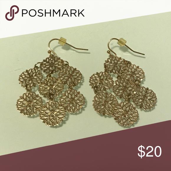 Lia Sophia earrings Chime Dangles Gold jewellery and Customer