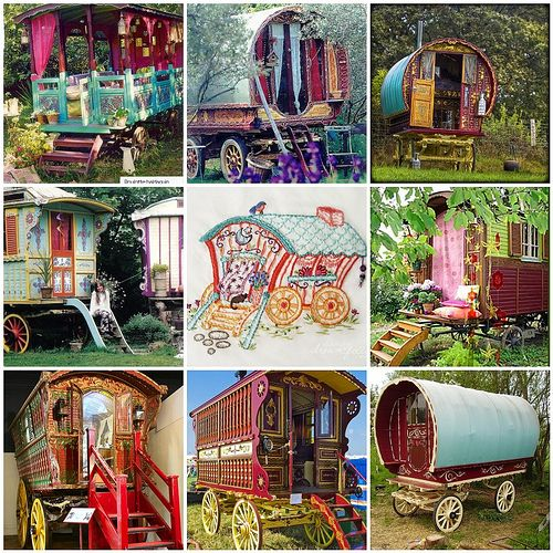 """Had a hard time choosing between """"Trailers"""" or """"tiny houses"""" for these..they could go into both folders:-)"""