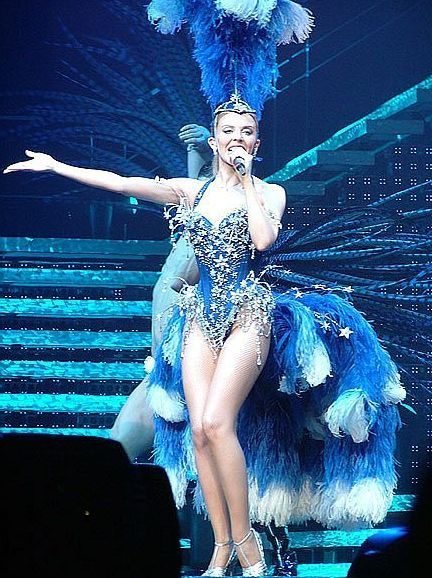 To acquire Minogues kylie greatest showgirl outfits time pictures trends