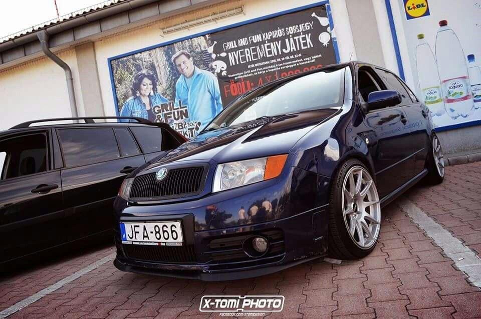 Fabia Rs On Xxr Wheels Skoda Fabia Bmw Mk1