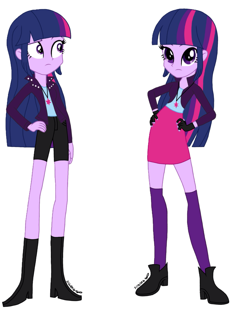 #1204861 - alternate universe, artist:psshdjndofnsjdkan, duality, equestria girls, safe, twilight sparkle - Derpibooru - My Little Pony: Friendship is Magic Imageboard