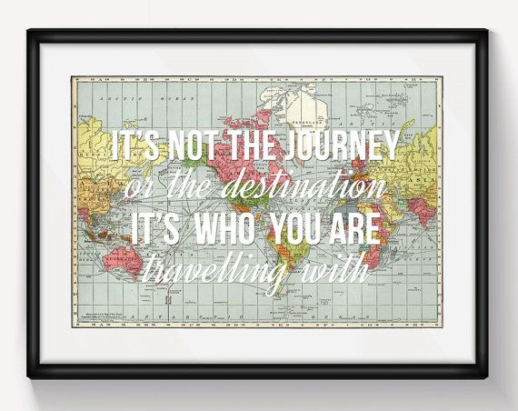 World map love quote wanderlust personalised world map print world map love quote wanderlust personalised world map print valentines gumiabroncs Choice Image