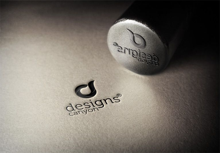 free steel stamp logo mockup template is perfect mockup to present you vector illustration logo or badge design on a steel surface with a realistic look