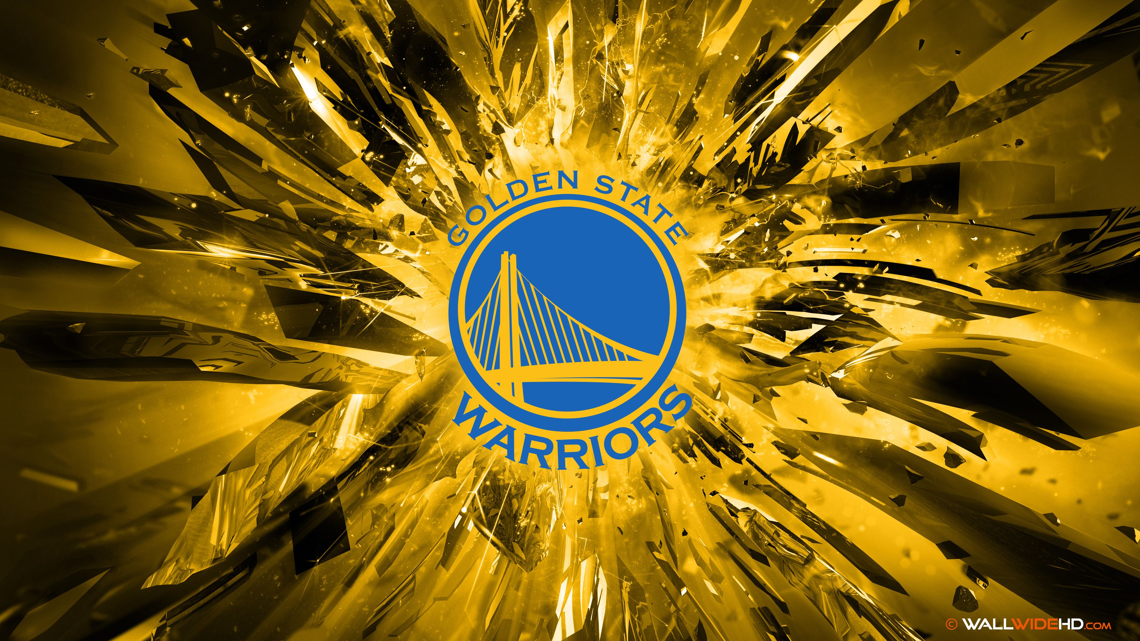 Will The Golden State Warriors Make History Golden State Warriors Wallpaper Golden State Warriors Logo Golden State Warriors