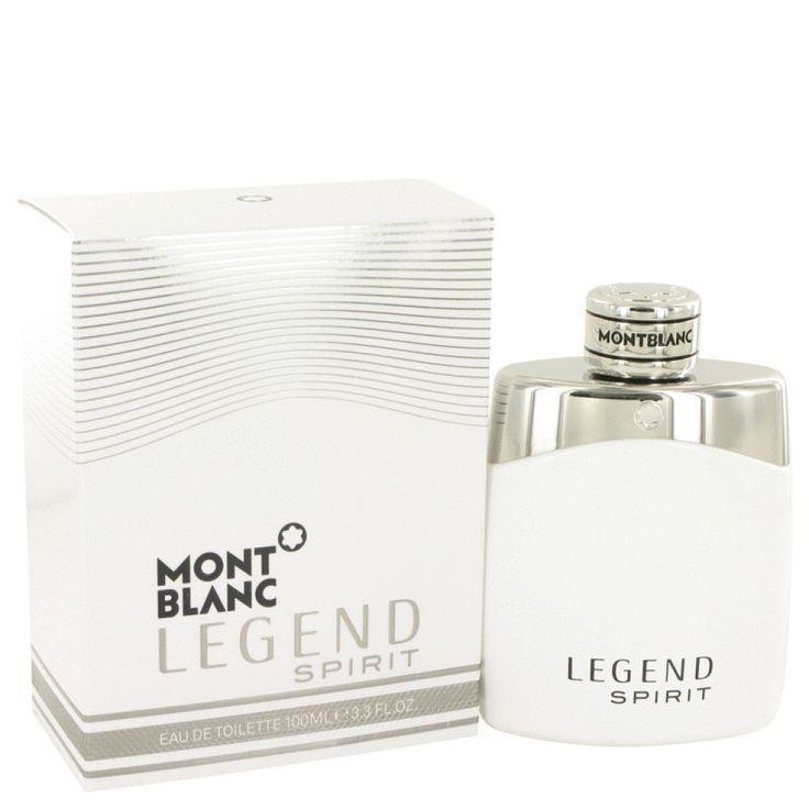 Montblanc Legend Spirit By Mont Blanc Eau De Toilette Spray 3 3 Oz Mont Blanc Eau De Toilette Mont Blanc Perfume