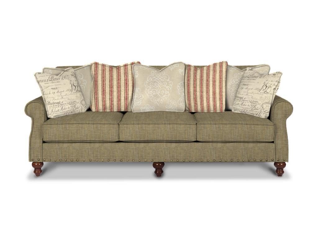 Paula Deen By Craftmaster Living Room Sofa P735850BD - CraftMaster -  Hiddenite, NC