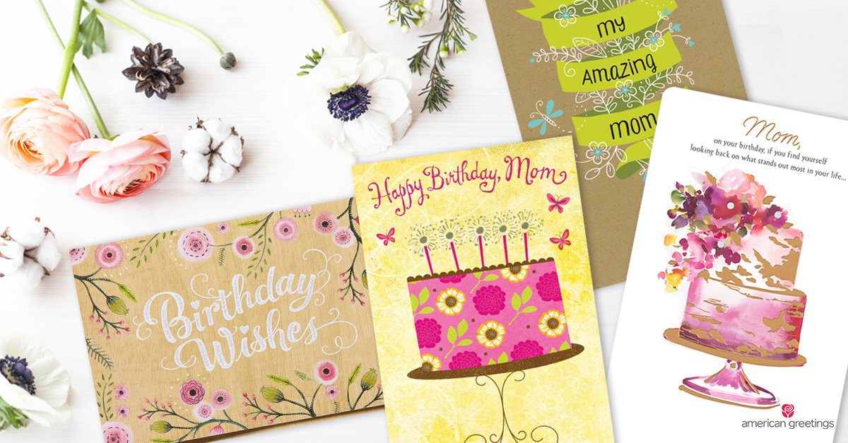 What to Write in a Birthday Card for Mom Birthday cards