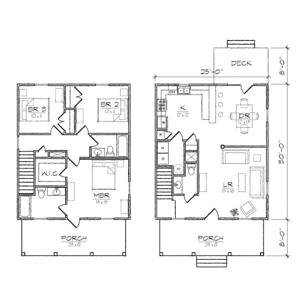 Florence Iii Floor Plan Cute Little Cottage House