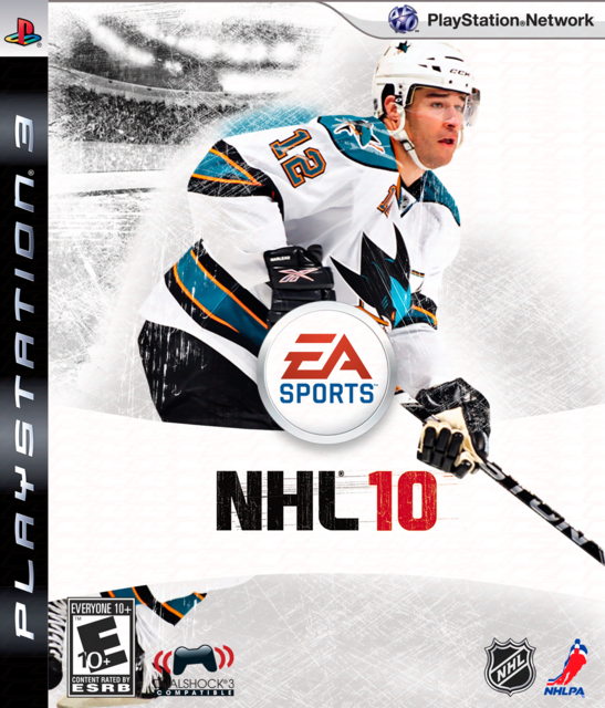Patrick Marleau Nhl10 Cover Work By Hfboards Member