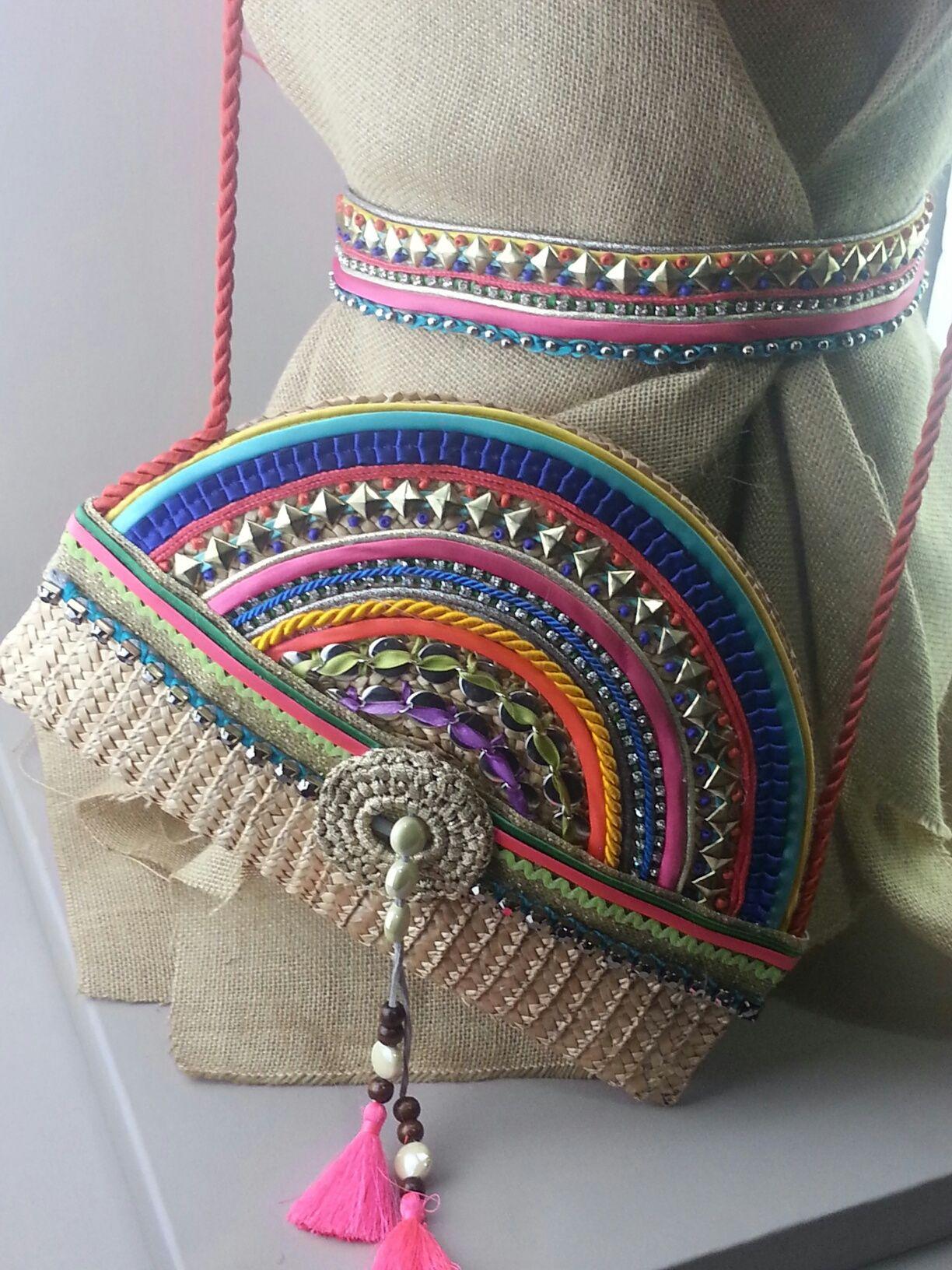 Cinturón y bolso