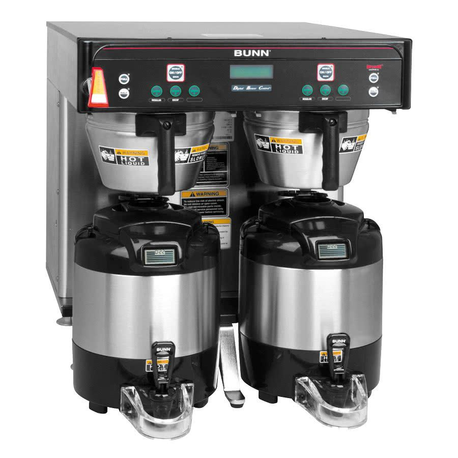 Bunn 37600 0012 Icb Twin Low Profile Infusion Coffee Brewer Commercial Coffee Makers Industrial Coffee Maker Coffee Brewer