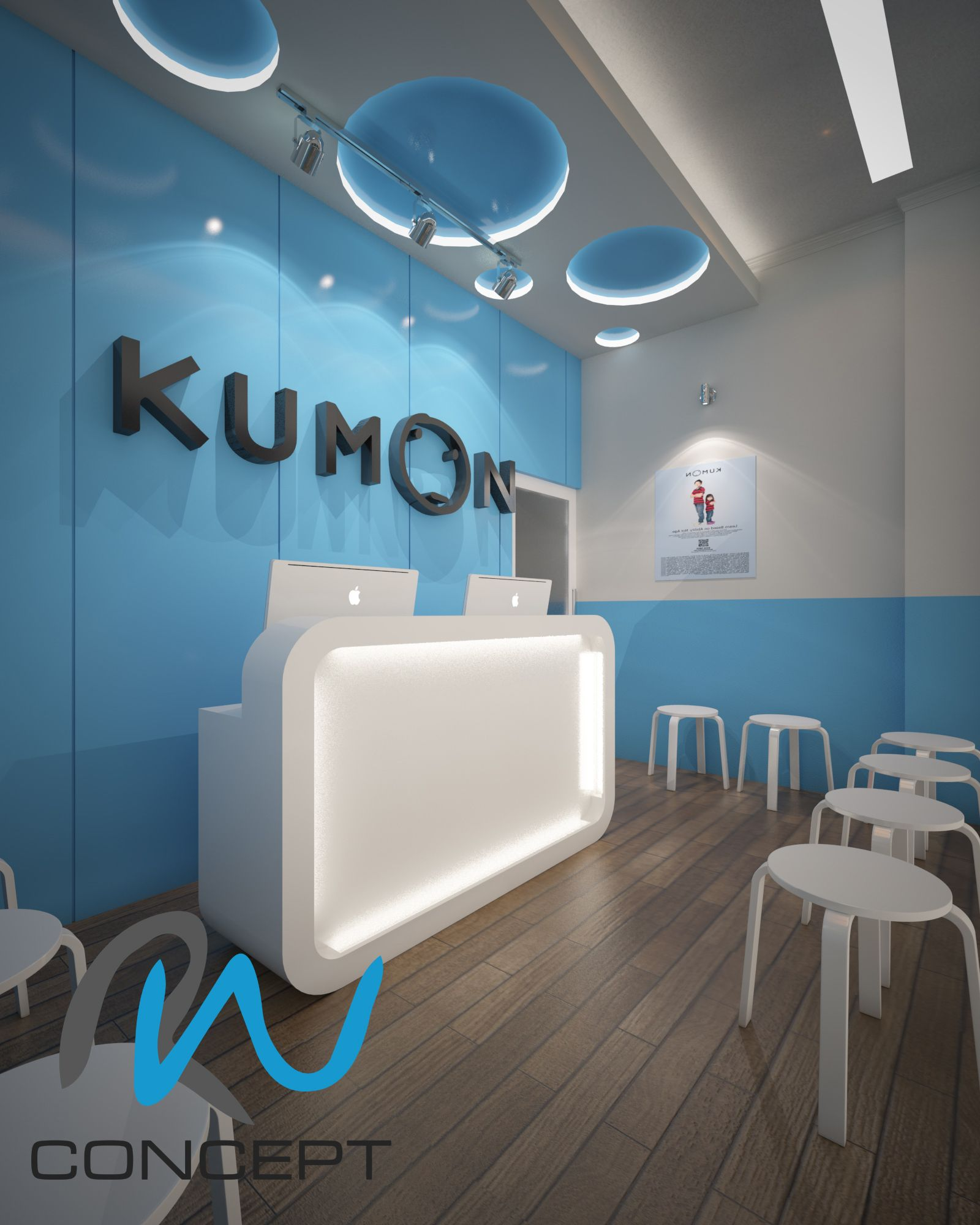 Kumon Design. Tangerang Selatan, Indonesia. Design U0026 3D By Radyan Winata RW  Concept