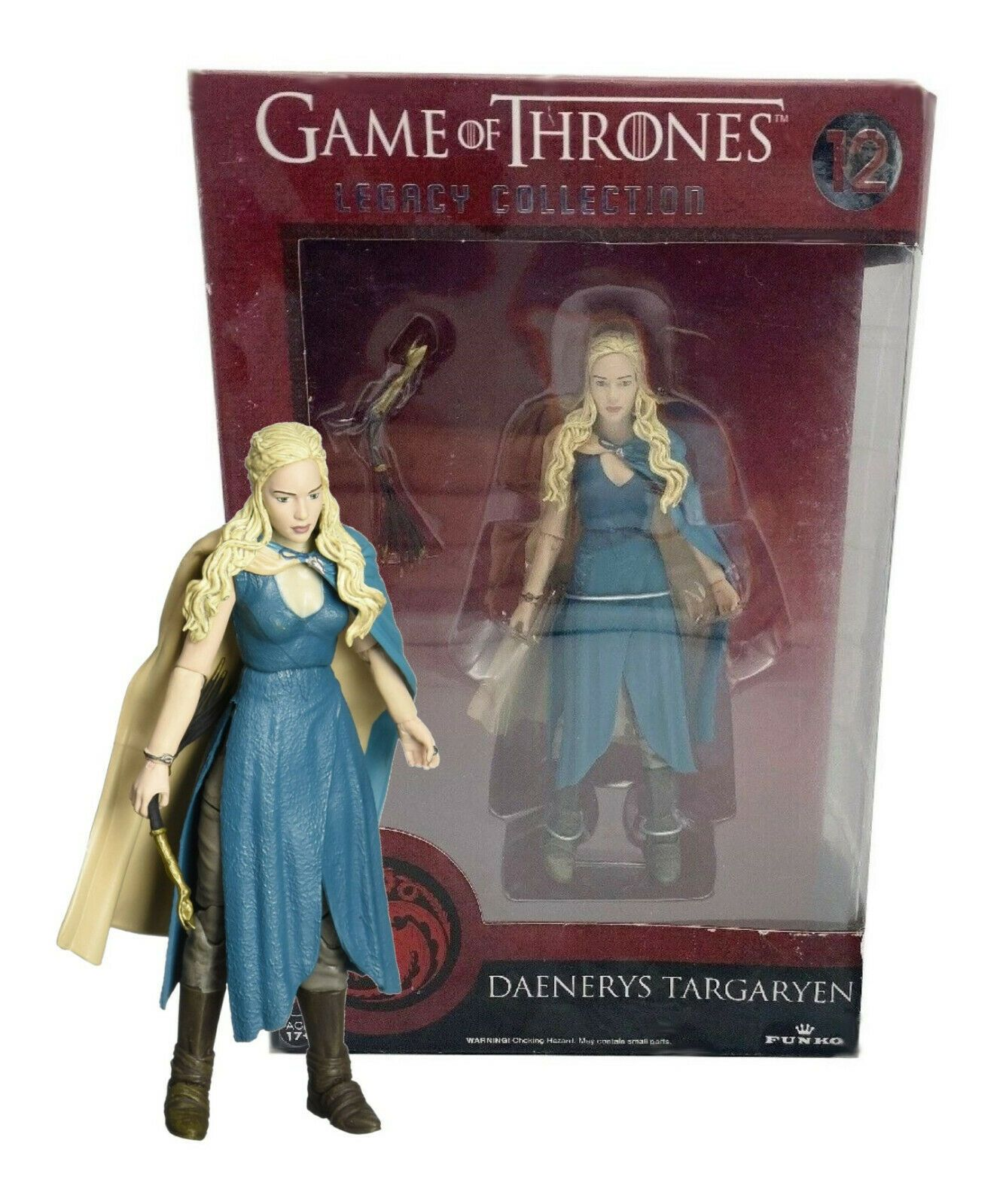 "Daenerys Targaryen Action Figure Game Of Thrones Khaleesi Doll Dragon Toy 6/"" Set"