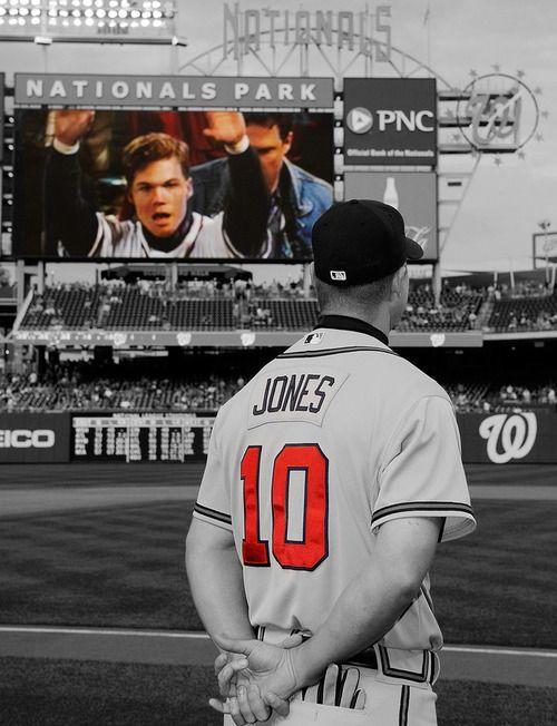 Chipper Jones Respect Atlanta Braves Baseball Braves Braves Baseball