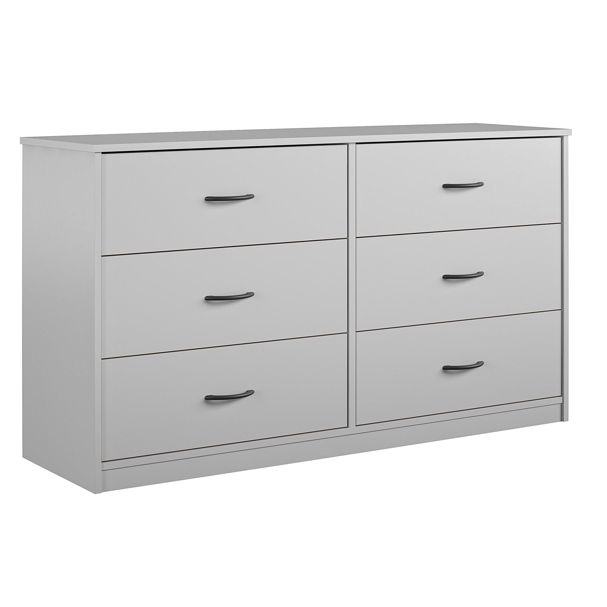 Mainstays Classic 6 Drawer Dresser Dove Gray Walmart Com 6 Drawer Dresser Drawers Walmart Dresser [ 2000 x 2000 Pixel ]