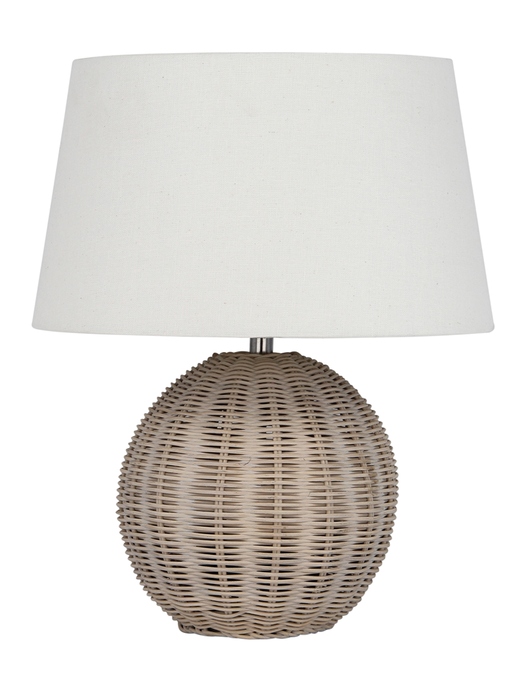 With a scandi inspired woven washed rattan v bedroom 2 guest rattan table lamp cox cox total h 53 x dia base h 27 x dia shade h 26 x dia cable l made from rattan and cotton requires 1 x bulb mozeypictures Image collections