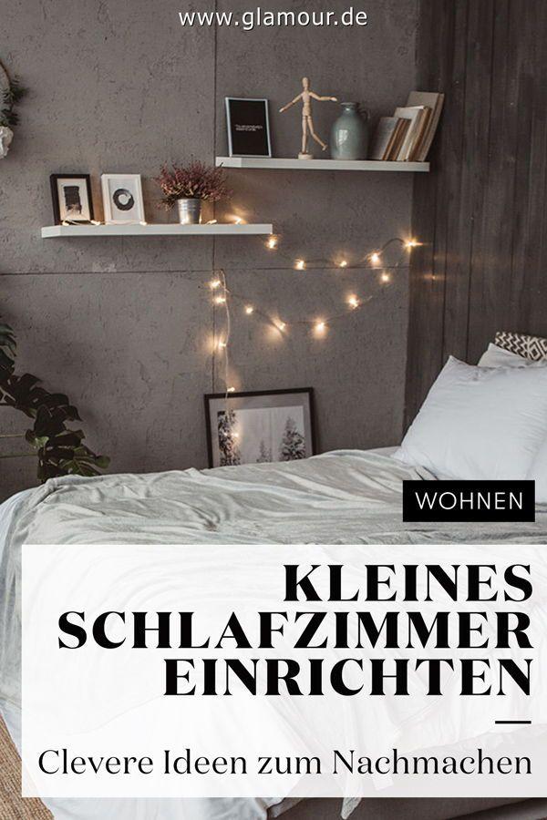 Photo of KLEINES SCHLAFZIMMER EINRICHTEN: TIPPS