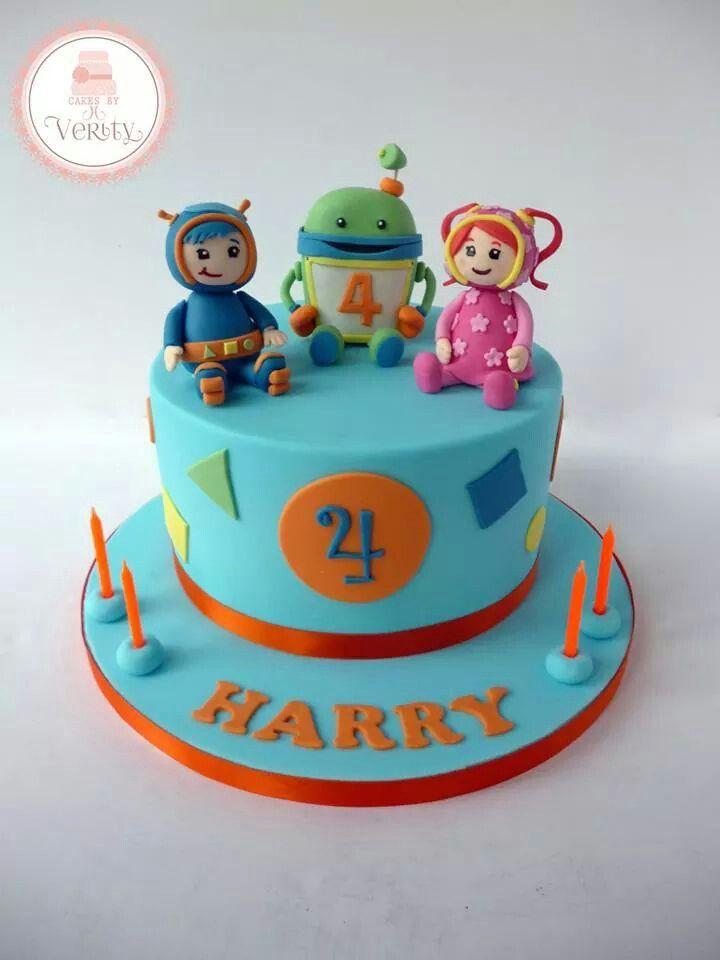 Remarkable Team Umizoomi Cake Little Girl Birthday Cakes Birthday Cake Personalised Birthday Cards Arneslily Jamesorg