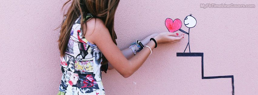 Little Heart Facebook Covers for Timeline