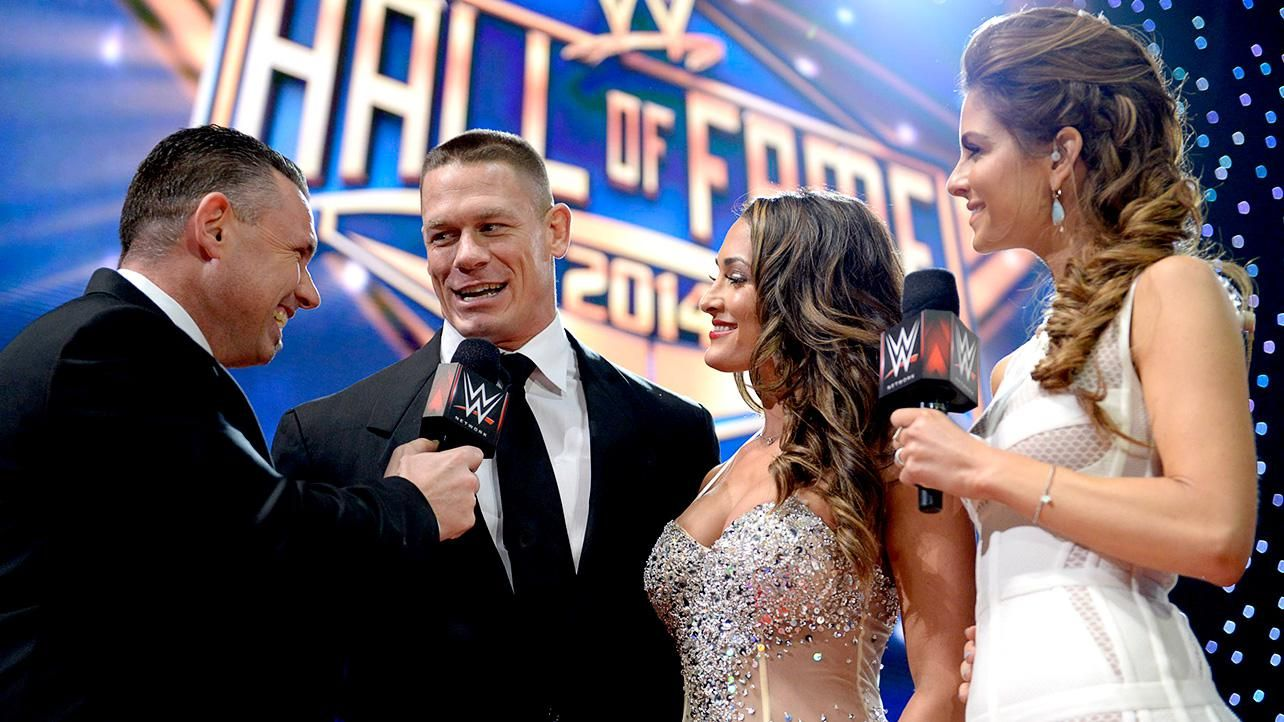 2014 WWE Hall of Fame Red Carpet | John Cena | Pinterest ...Wwe Hall Of Fame 2014 Inductees