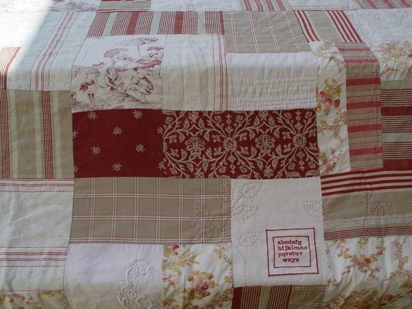Tuto plaid patchwork pinterest plaid tuto et dessus de lit - Patchwork modele gratuit dessus de lit ...