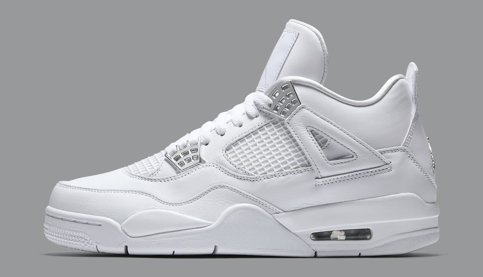 Nike Air Jordan IV Retro Pure Money Boys Basketball shoes High