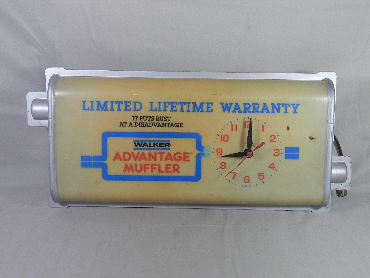 vintage walker advantage muffler