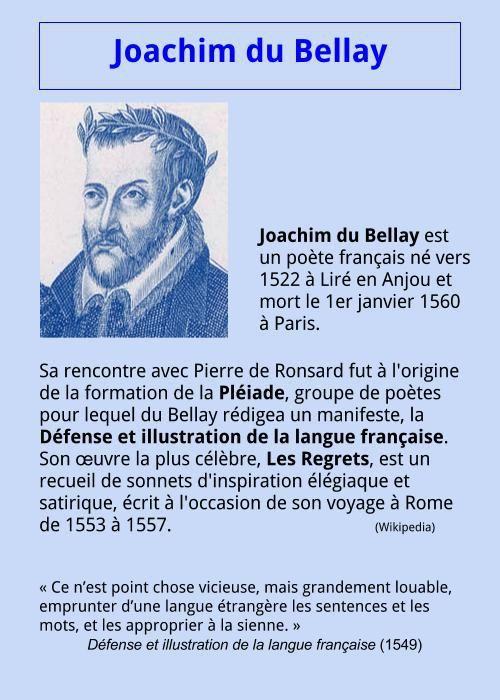 Joachim du Bellay | À la française …