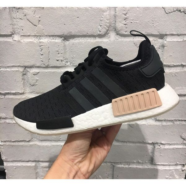 Adidas Nmd r1 carbon ash Pearl Tan Customized With Swarovski Xirius... ( 05e49fc2e