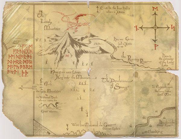 map hobbit