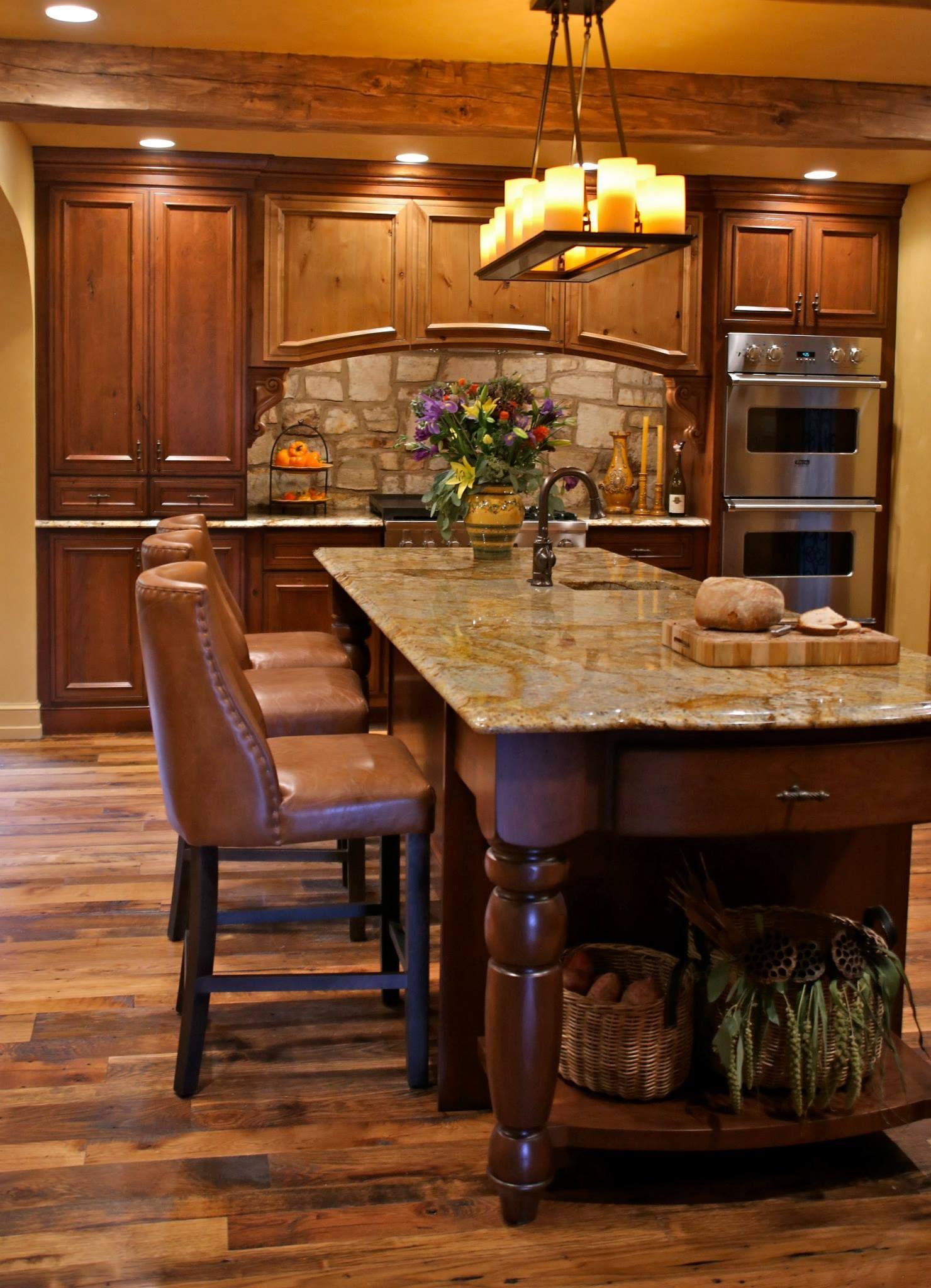 Best I Love This Kitchen Island Tuscan Kitchen Tuscan 400 x 300