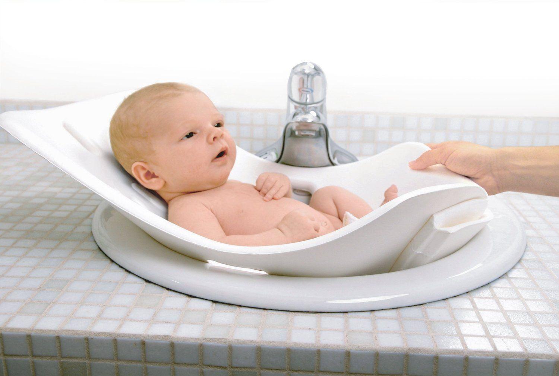 Amazon Com Puj Tub The Soft Foldable Baby Bath Tub White