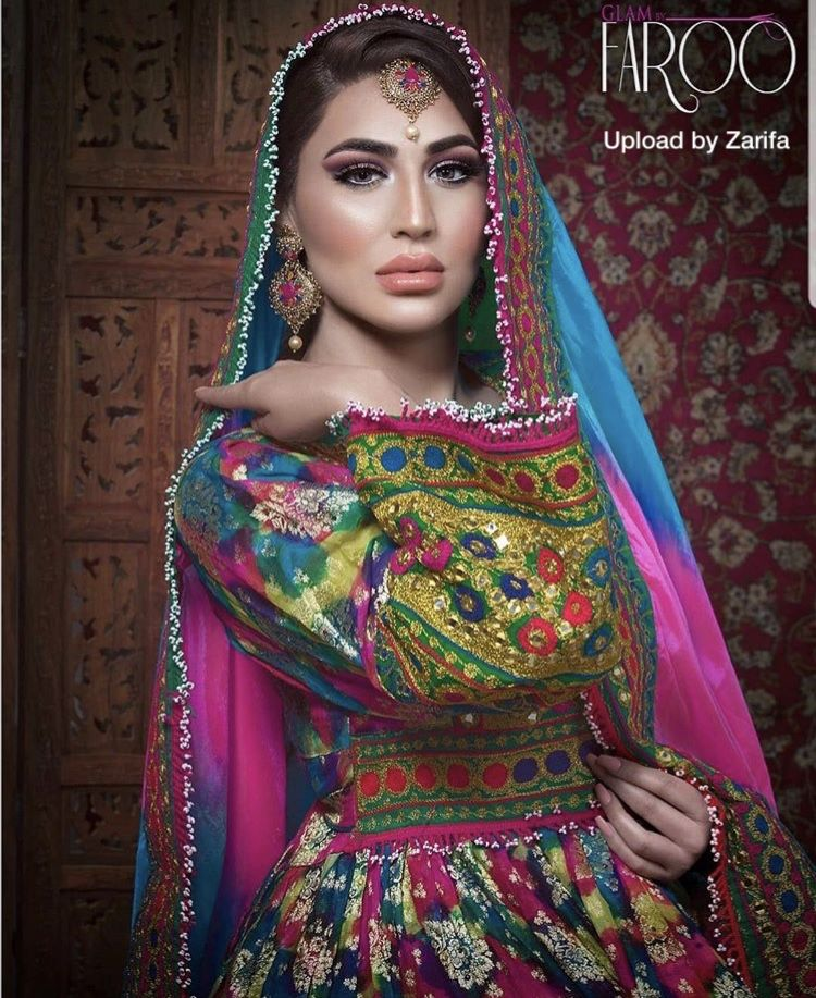 Womensfashion Clothing Culture Style Design Afghanistan