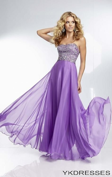 Purple Prom Dresses 2014