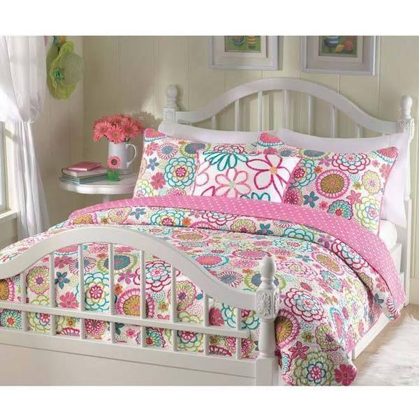Mariah 3-piece Quilt Set - Overstock™ Shopping - The Best Prices ... : bedding quilts kids - Adamdwight.com