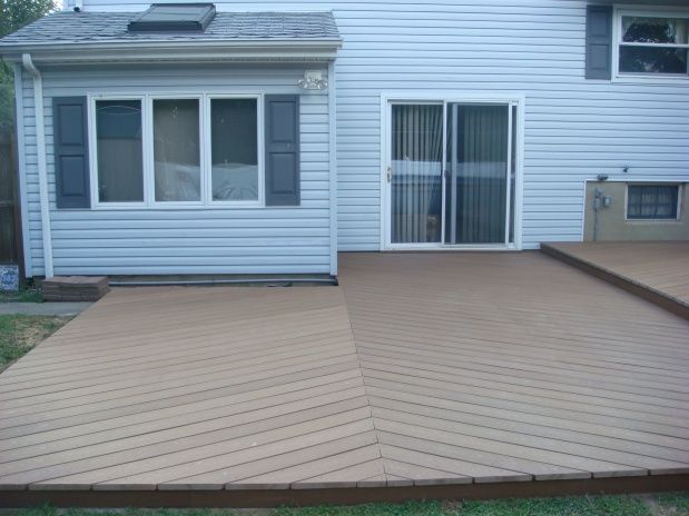 Ideas For Deck Over Concrete Patio And Beyond Pics Patios Decks Pinterest