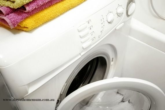 Cleaning Your Washing Machine | Stay at Home Mum