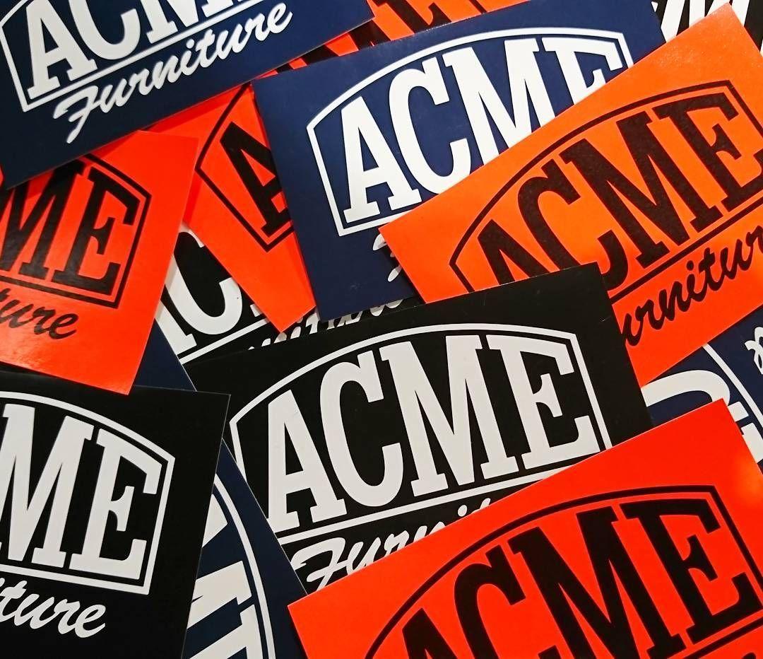 ACME Sticker ¥300+tax #acme#furniture#acmefurniture #