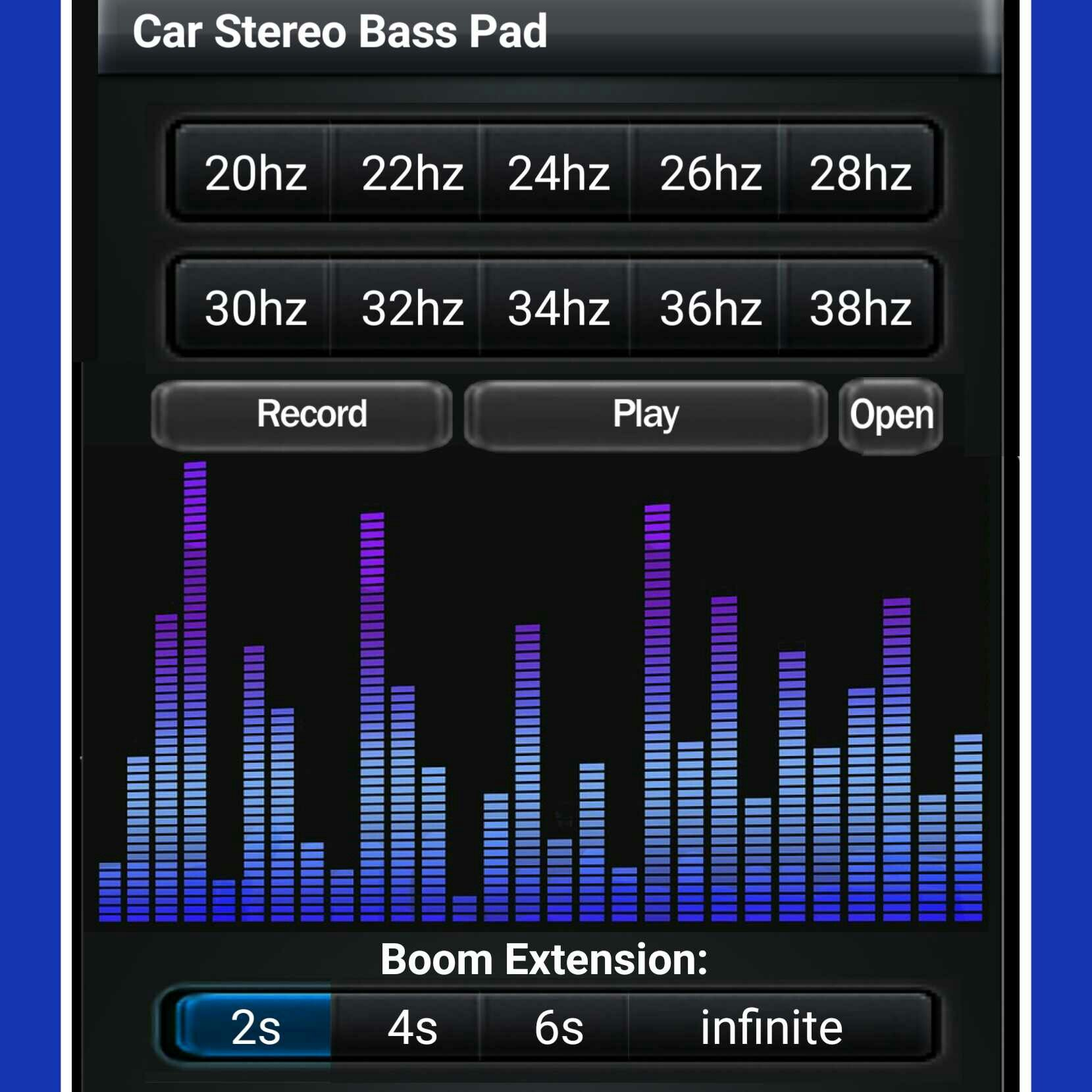 Make your own ultra-low bass tracksl Free app: | Car Stereo