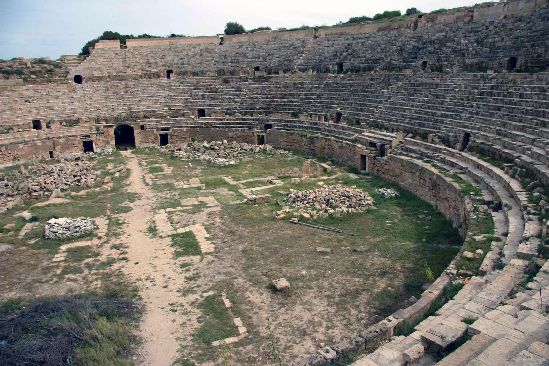 Leptis Magna: anfiteatro
