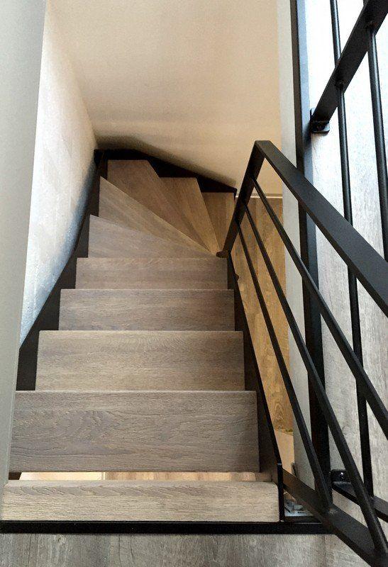 Escalier Loft avec marches façon | Rampe escalier, garde-corps ...