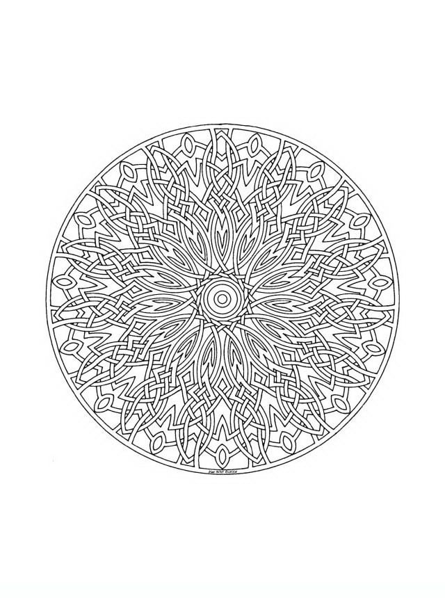 mandala 314 adult teenagers coloring pages coloring geometric designs mandala color. Black Bedroom Furniture Sets. Home Design Ideas