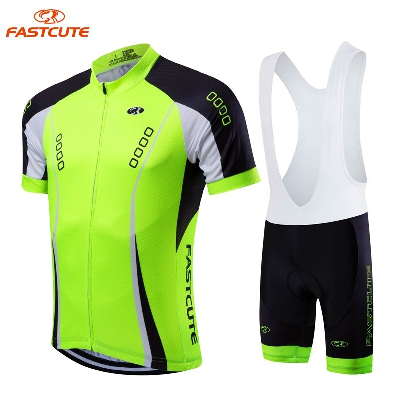FASTCUTE Brand Short Sleeve Cycling set Maillot Ropa Ciclismo 2017 Racing Bike  Clothing With Pro Bicycle 2f60c890a
