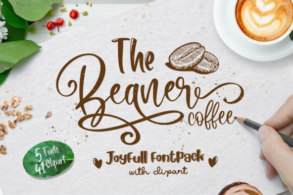 Download The Beans Script (Font) by Din Studio | Commercial use ...
