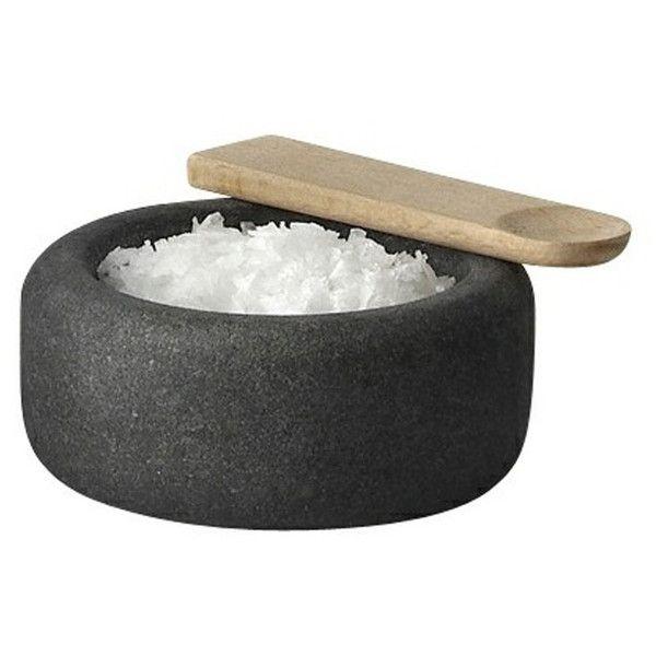 One Salt Cellar by Muuto found on Polyvore featuring home, kitchen & dining, serveware, filler, salt keeper, salt cellar, muuto, salt container and salt box